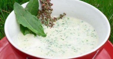 ソレルの春のハーブスープ
