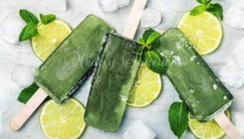 ペパーミントのアイス